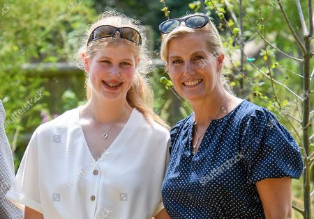 Lady Louise Windsor and Sophie Countess of Wessex at The Wild Place