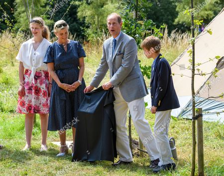 Lady Louise Windsor, Sophie Countess of Wessex, Prince Edward, James Viscount Severn at The Wild Place
