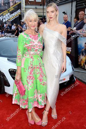 Helen Mirren and Vanessa Kirby