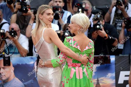 Vanessa Kirby and Helen Mirren