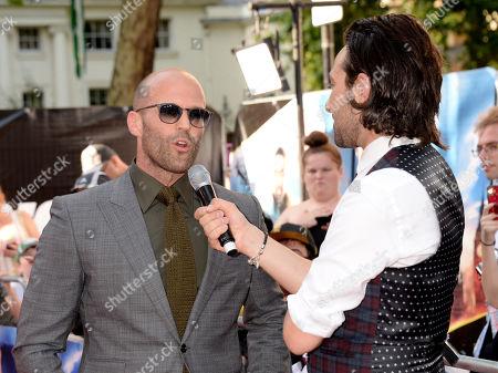 Jason Statham and Alex Zane