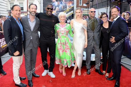 Editorial photo of 'Fast & Furious Presents: Hobbs & Shaw' film premiere, London, UK - 23 Jul 2019