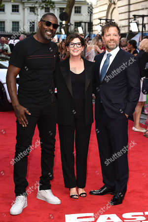 Idris Elba, Kelly McCormick and David Leitch