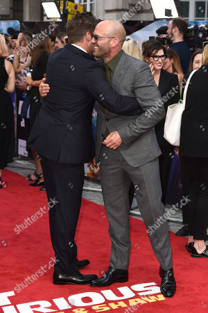David Leitch and Jason Statham