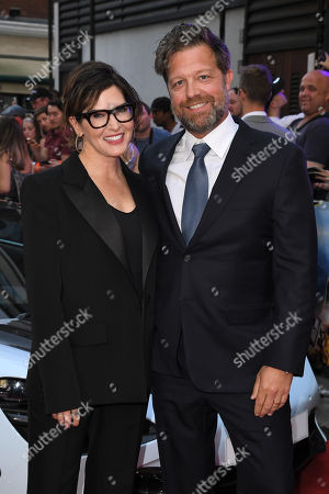 Kelly McCormick and David Leitch attend the Fast & Furious: Hobbs & Shaw Special Screening in London