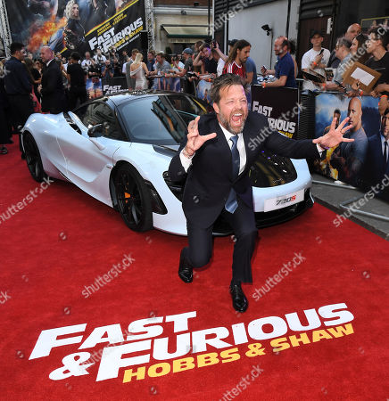 David Leitch attends the Fast & Furious: Hobbs & Shaw Special Screening in London