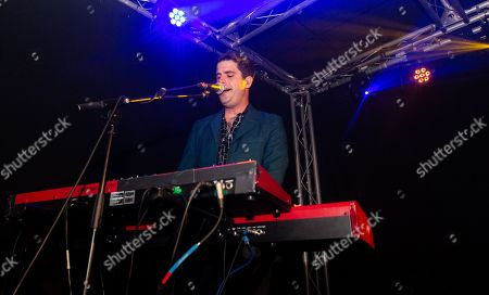 Stock Picture of Mini Mansions - Tyler Parkford