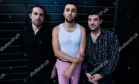 Stock Picture of Mini Mansions - Michael Shuman, Zach Dawes and Tyler Parkford