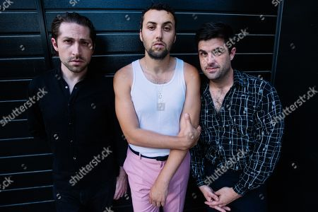 Stock Photo of Mini Mansions - Michael Shuman, Zach Dawes and Tyler Parkford
