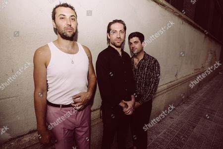 Stock Image of Mini Mansions - Zach Dawes, Michael Shuman and Tyler Parkford