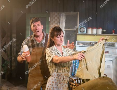 Jenna Russell as Francesca, Dale Rapley as Richard Bud Johnson