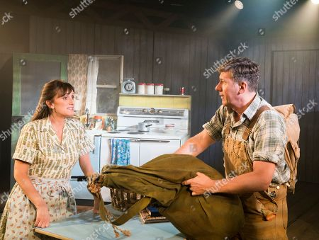Stock Picture of Jenna Russell as Francesca, Dale Rapley as Richard Bud Johnson