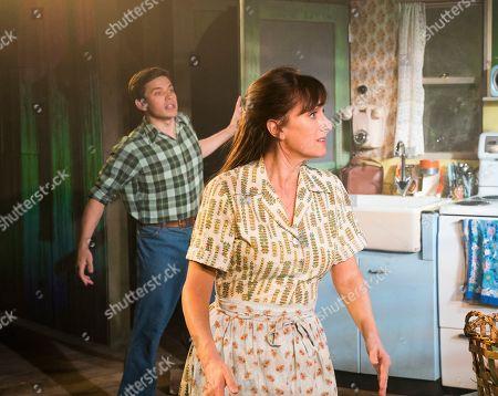 David Perkins as Michael, Jenna Russell as Francesca,