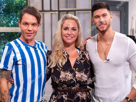 Bobby Cole Norris, Josie Gibson and Jack Fowler
