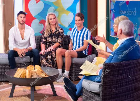 Jack Fowler, Josie Gibson and Bobby Cole Norris