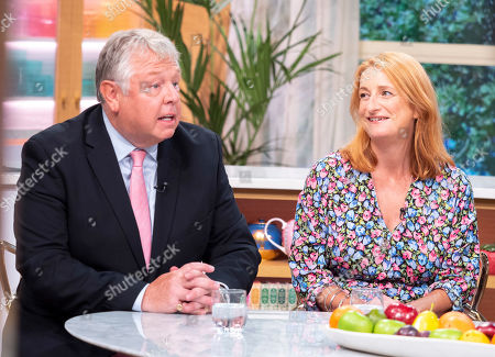 Stock Image of Nick Ferrari and Alison Phillips