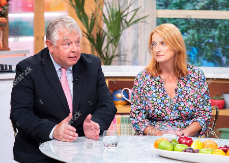 Stock Picture of Nick Ferrari and Alison Phillips