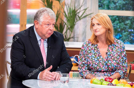 Stock Photo of Nick Ferrari and Alison Phillips