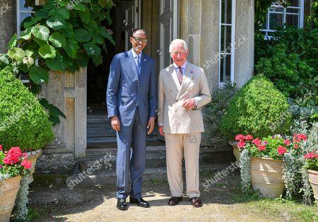 President of Rwanda Paul Kagame visit to the UK