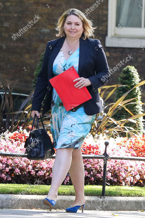 Stock Picture of Secretary of State for Northern Ireland Karen Bradley arrives in Downing Street