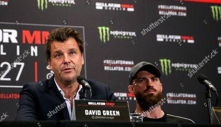 Head of Bellator Europe David Green