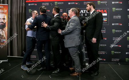 Editorial picture of Bellator 227 Press Conference, The Gibson Hotel, Dublin  - 23 Jul 2019