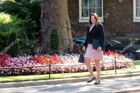 Minister of State for Immigration Caroline Nokes arrives for Theresa May's final cabinet meeting as Prime Minister at 10 Downing Street in London.