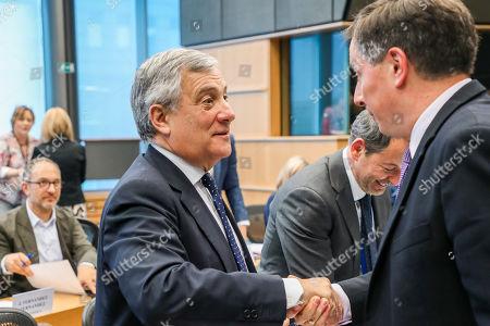Editorial photo of European Parliament, Brussels, Belgium - 23 Jul 2019