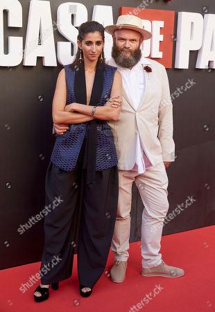 Editorial image of 'La Casa de papel' TV show premiere, Madrid, Spain - 12 Jul 2019