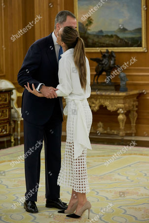 King Felipe VI and Ona Carbonell