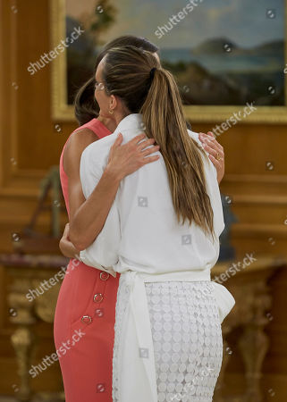 Queen Letizia and Ona Carbonell