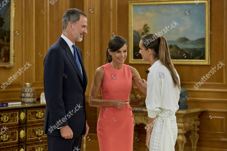 King Felipe VI, Queen Letizia and Ona Carbonell
