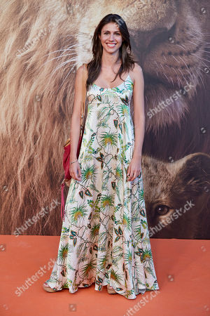 Editorial photo of 'The Lion King' film premiere, Madrid, Spain - 17 Jul 2019