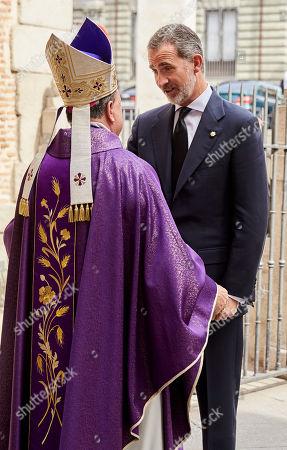 Cardinal Jose Manuel Estepa funeral, Madrid