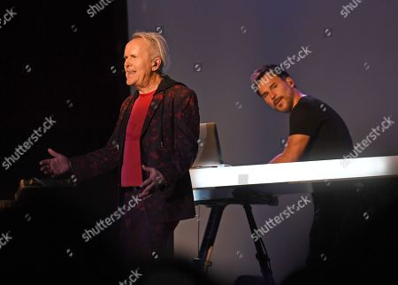 BT of 'All Hail the Silence' performs with Howard Jones on Stage 954 at the Dania Beach Casino