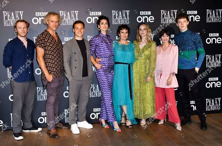 Stock Photo of Brian Gleeson, Elliot Cowan, Finn Cole, Natasha O'Keeffe, Helen McCrory, Sophie Rundle, Charlene McKenna and Harry Kirton