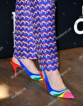Natasha O'Keeffe, shoe detail