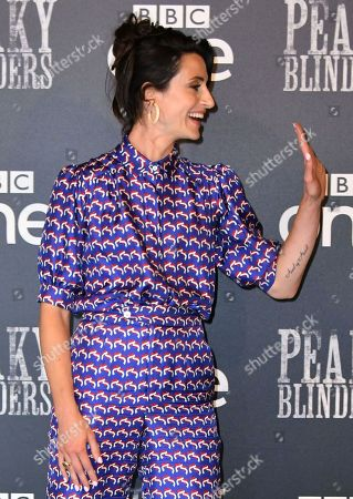 Editorial photo of 'Peaky Blinders, Series Five' TV Show Premiere, Arrivals, London, UK - 23 July 2019