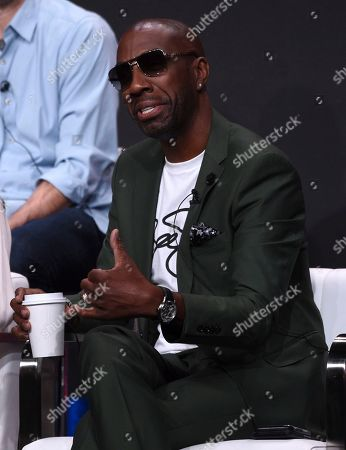 """J.B. Smoove participates in the """"Harley Quinn"""" panel during the Television Critics Association Summer Press Tour, in Beverly Hills, Calif"""