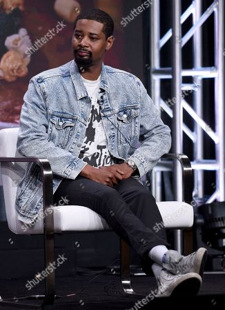 """Danny Brown participates in Viceland's """"Danny's House"""" panel at the Television Critics Association Summer Press Tour, in Beverly Hills, Calif"""