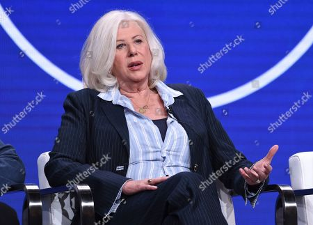 """Stock Photo of Callie Khouri participates in Lifetime's """"Patsy & Loretta"""" panel at the Television Critics Association Summer Press Tour, in Beverly Hills, Calif"""