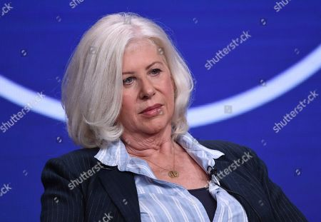"""Callie Khouri participates in Lifetime's """"Patsy & Loretta"""" panel at the Television Critics Association Summer Press Tour, in Beverly Hills, Calif"""