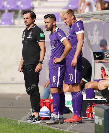 Editorial image of Football: Pre Season Friendly, Aue, Germany - 20 Jul 2019