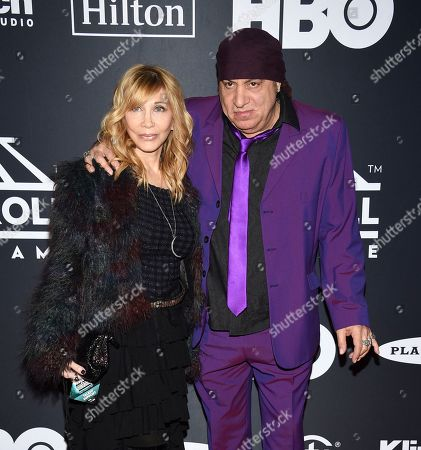 Maureen Van Zandt, Steven Van Zandt. Maureen Van Zandt, left, and Steven Van Zandt attend the 2019 Rock & Roll Hall of Fame induction ceremony at the Barclays Center, in New York