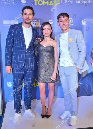 Stock Photo of Alan Estrada, Hoze Melendez and Marcela Guirado