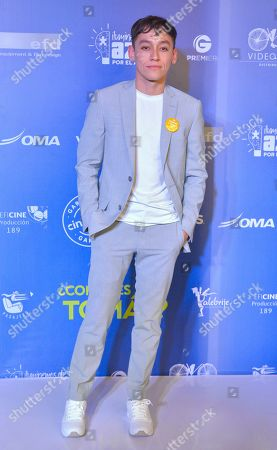 Editorial image of 'This is Tomas' film premiere, Arrivals, Mexico City, Mexico - 22 Jul 2019