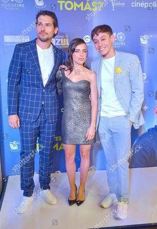 Alan Estrada, Hoze Melendez and Marcela Guirado