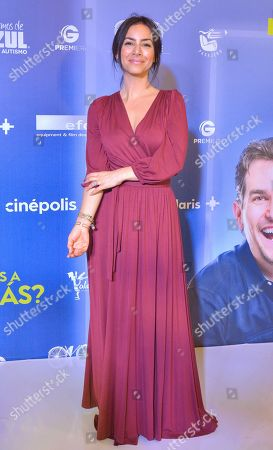 Editorial picture of 'This is Tomas' film premiere, Arrivals, Mexico City, Mexico - 22 Jul 2019