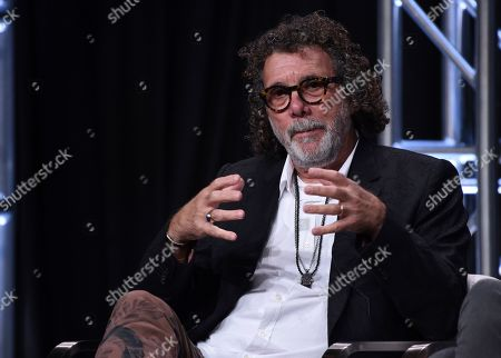 """Stock Photo of Jack Bender participates in AT&T Audience's """"Mr. Mercedes"""" panel at the Television Critics Association Summer Press Tour, in Beverly Hills, Calif"""