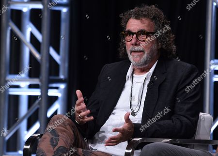 """Jack Bender participates in AT&T Audience's """"Mr. Mercedes"""" panel at the Television Critics Association Summer Press Tour, in Beverly Hills, Calif"""